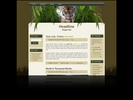 Wildlife Wordpress theme and website template with tiger
