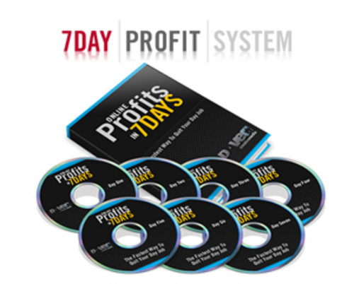 Product picture 7 Day Profits System with MRR