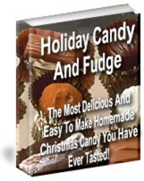 Product picture Holiday Candy and Fudge with PLR