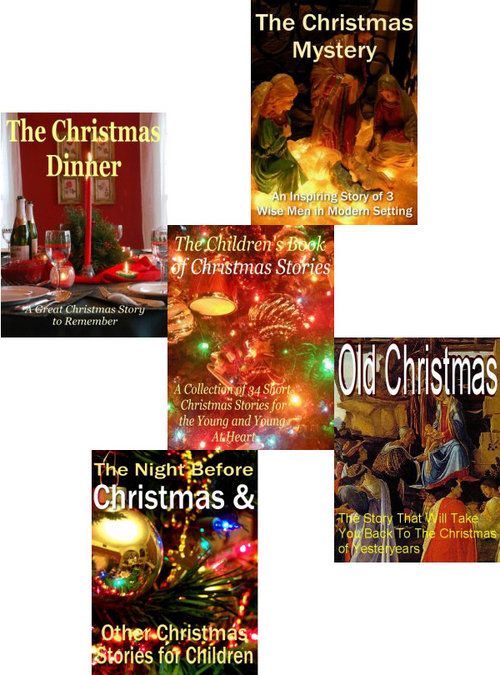 Product picture Christmas Book Collection with PLR