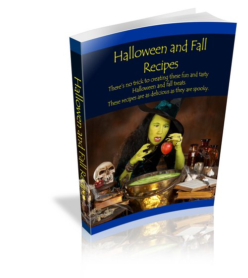 Product picture Halloween recipes - volume 1